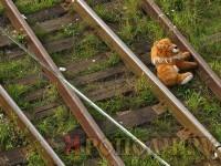 Младенец упал с платформы на железнодорожные пути