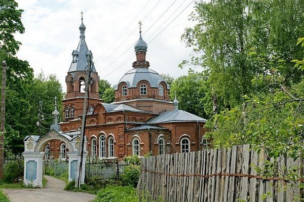 Всесвятский храм в Гороховце