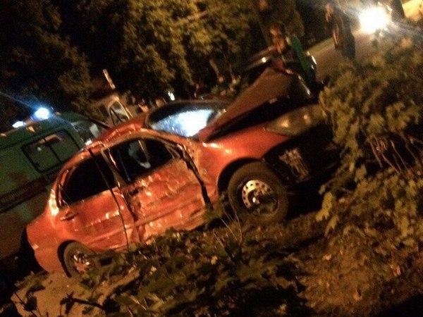 дтп Вязники, 8 августа 2017 года,улица Ленина Вязники, авария у гранда