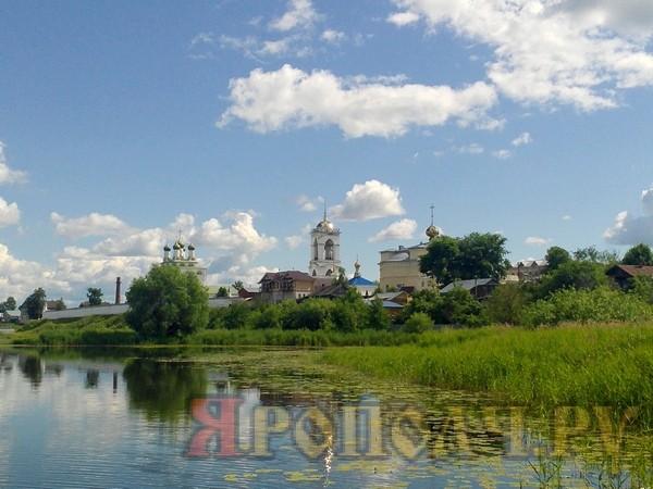 Мстера, лето,река Мстерка