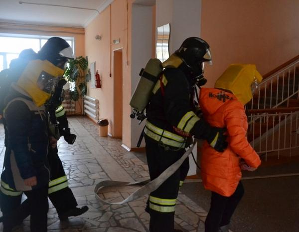 МКДЦ Ракета,Гороховец,спасатели,пожарные,учения,