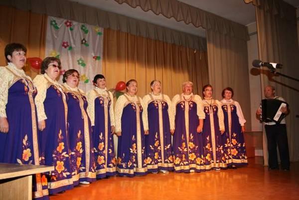 Гороховецкий раойон,поселок Чулково,Чулковский СДК,ансамбль Калинушки