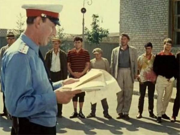 Операция «Ы» и другие приключения Шурика,суточники,административный арест,посадили на сутки,