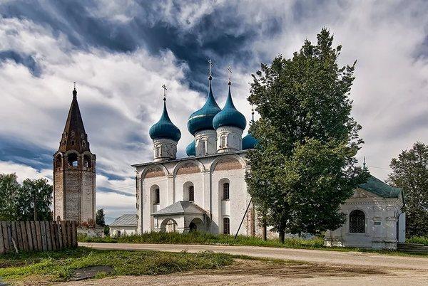 Благовещенский собор и колокольня, 1700 год,Гороховец,