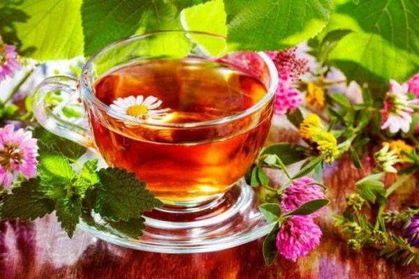 травяной чай,