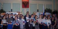 Школьники из города Героев получили свои первые паспорта