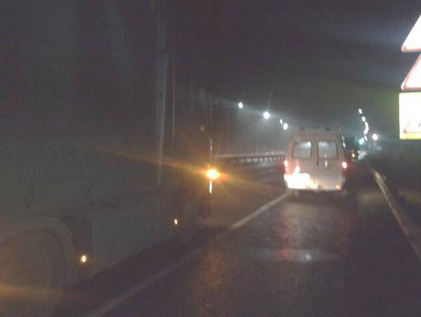 поворот на станцию Мстера,279 километр,трасса,авария 5 ноября 2017 года,ДТП,столкновение двух фур,
