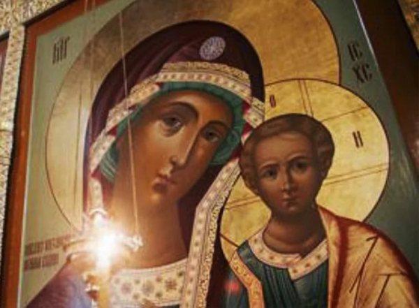 каанская икона божьей матери,