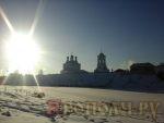 Мстёра,рождественский пост,зима,Свято-Богоявленский мужской монастырь,