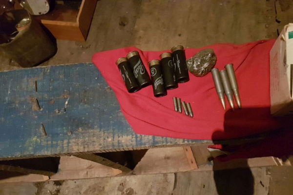 изъятые боеприпасы,владимирская полиция,операция Оружие,