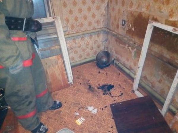 пожар,24 ноября 2017 года,24.11.2017,Камешково,улица Карла Маркса,