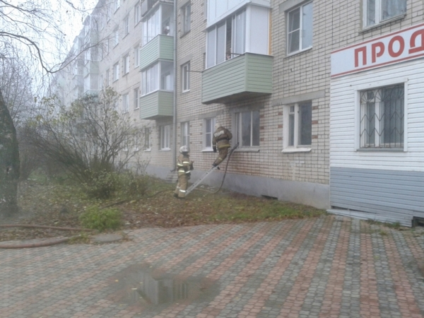 пожар Вязники,13.11.2017,13 ноября 2017 года,улица 1 Мая Вязники пожар,сгорела квартира,