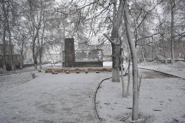 Гороховец,сквер,площадь Патоличева,