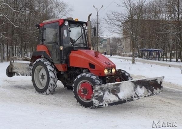 трактор,снегоуборка,Вязники,ООО Дорожник,
