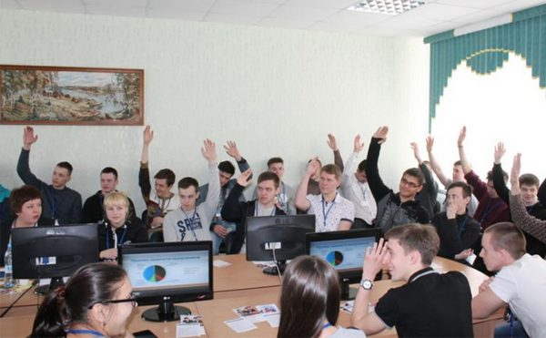Молодёжный карьерный форум «Я выбираю будущее», ВТЭК апрель 2017,Вязники