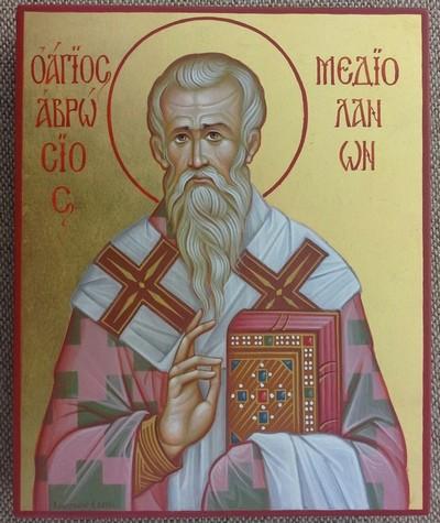 святой Амвросий,епископ Медиоланский,