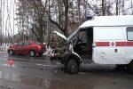 авария с участием скорой помощи,Муром,Меленковское шоссе,