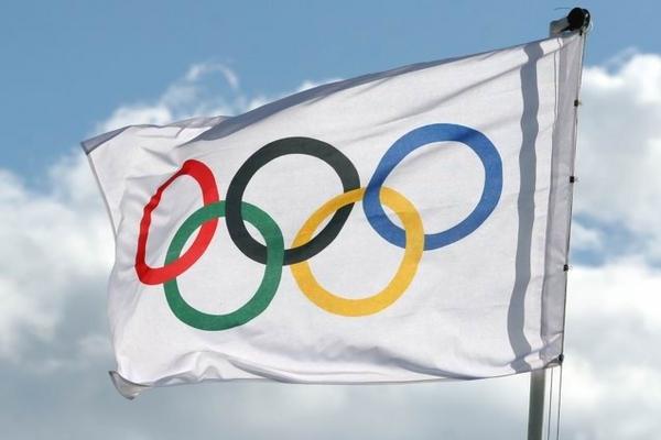 олимпиада,олимпийский флаг,