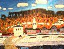Гороховец на картинах живописцев превратился в сказочный остров Буян