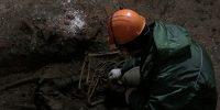 В Благовещенском соборе найден скелет 17 века