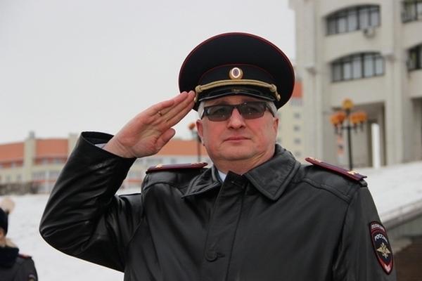 Лосев Олег,полковник полиции,