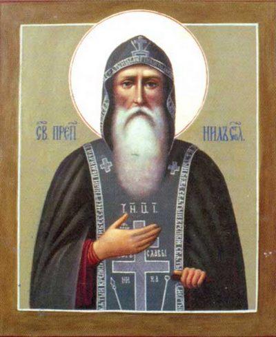 Нил Столбеский,святой,