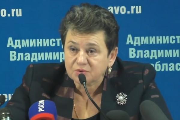 Орлова Светлана Юрьевна,губернатор Владимирской области,