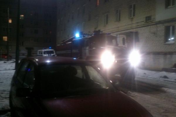 пожар,27 декабря 2017 года,Гороховец,улица Парковая,