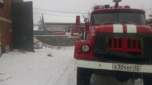 Гороховец,пожар,улица Садовая,24 декабря 2017 года,