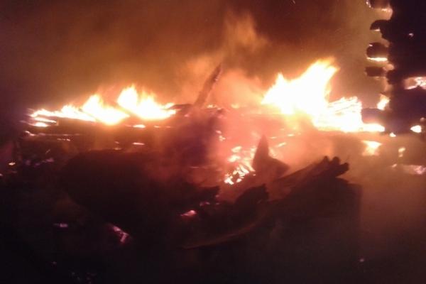пожар Рудильницы Вязниковский район,сгорел дом,