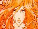 характер женщины,женщина,рыжеволосая,шатенка,