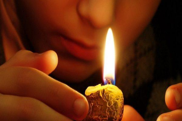 заговр от полуночницы,ночь,свеча,