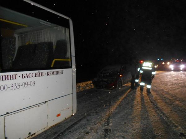 авария на трассе,Суздальский район,25 километр,М-7,
