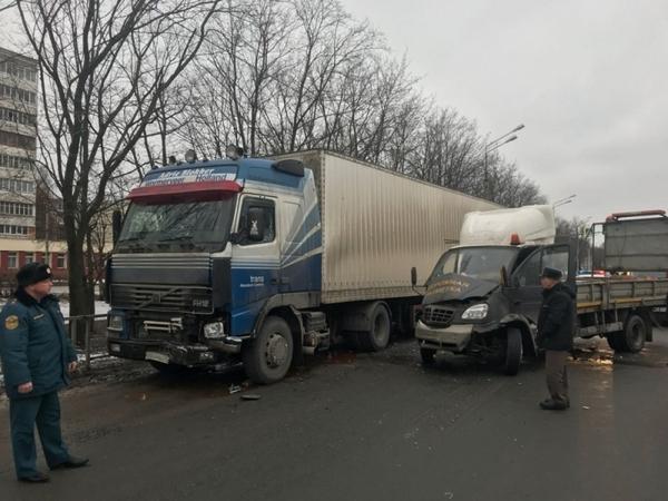 дтп Владимир,авария на трассе,м-7,город Владимир,улица Растопчина,2 января 2018 года,