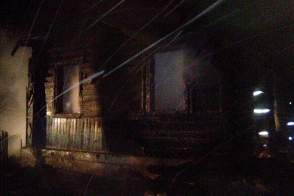 На пожаре погибли мать и её 2-х летний ребёнок