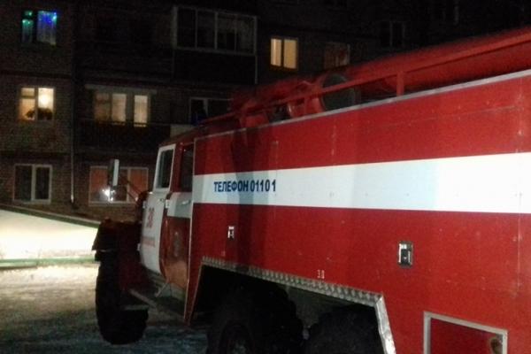 22 января 2018 года.Гороховец,улица Кутузова,пожар,горела многоэтажка,пожар в многоэтажном доме,