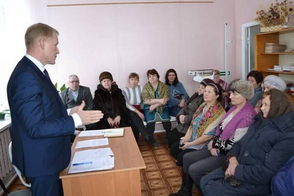 отчет перед населением,Бубела,Гороховецкий район,МО Денисовское,