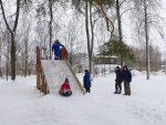 поселок Октябрьский,Вязниковский район,парк,