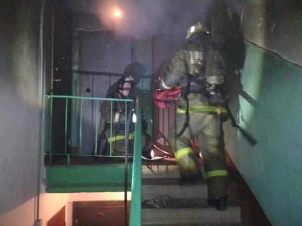 23 февраля 2018 года,пожар,Ковров,улица Грибоедова,спасли трех человек,