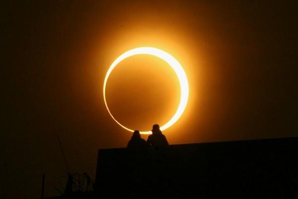 солнечное затмение.коридор затмений,15 февраля 2018 года,