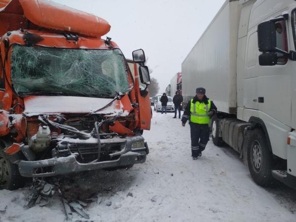 авария,ДТП,столкновение на трассе,Гороховецкий район,трасса,Владимирская область,337 километр,