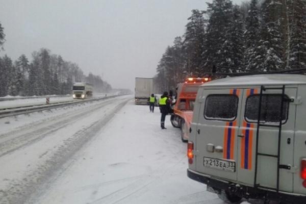 авария,ДТП,м-7,трасса,Вязниковский район,Владимирская область,269 километр,