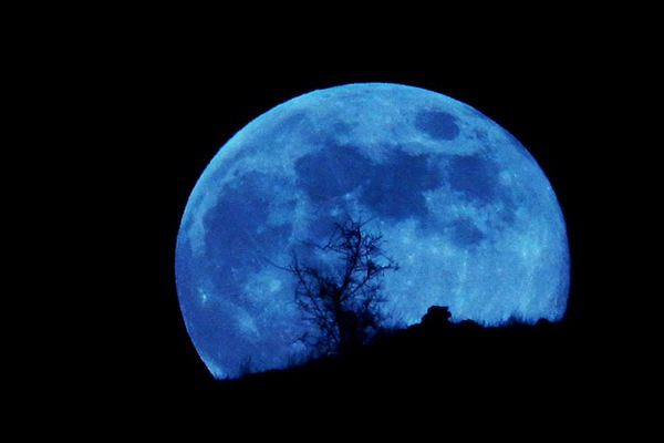голубая луна,полная луна,полнолуние,
