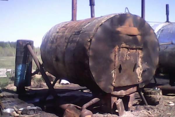производство древесного угля,