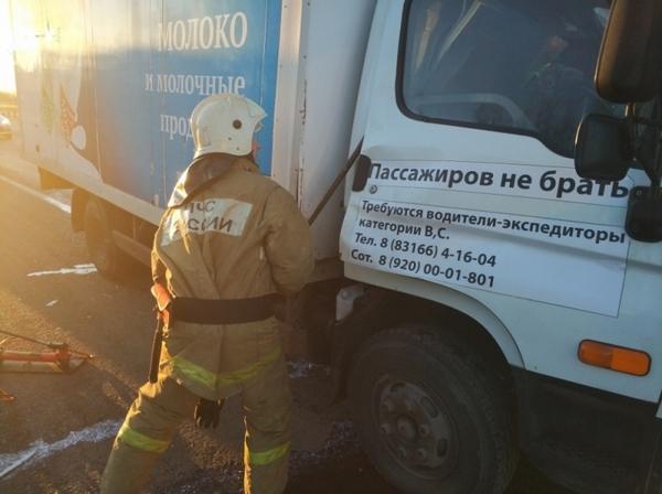 290 километр,5 апреля 2018 года,М-7,авария,Никологорский поворот,поворот на Никологоры,
