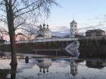 Мстёра,Вязниковский район,разлив,апрель,река Мстёрка,