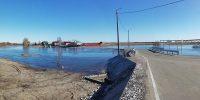 Новый мост и дорога не помогли. Разлив в посёлке мастеров