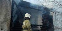 Пожар в частном доме тушили 7 человек