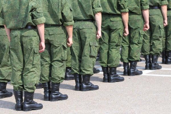 17 апреля пройдёт первая отправка новобранцев в войска