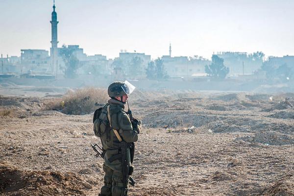 Сирия,солдат ВС РФ,